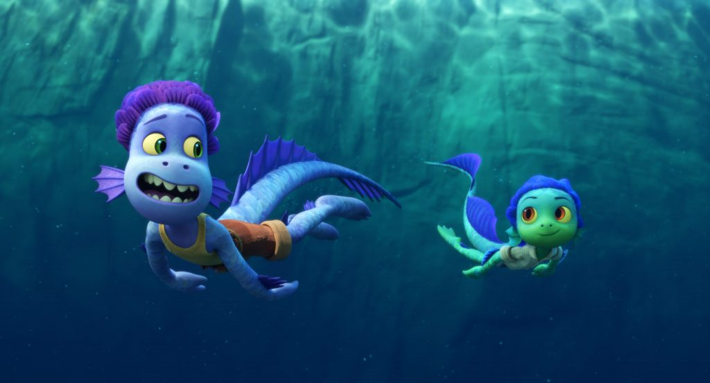 Pixar Luca review: sea monsters could be scary for little kids