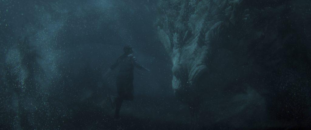 Shang-chi underwater dragon