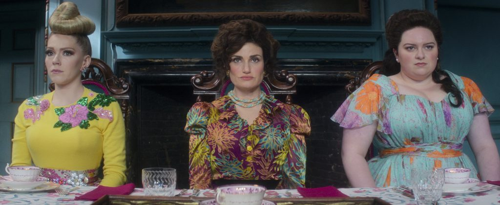 Cinderella's stepsisters in new Prime video Cinderella movie