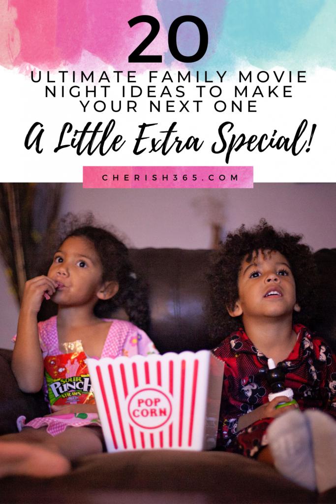 20 ultimate family movie night ideas