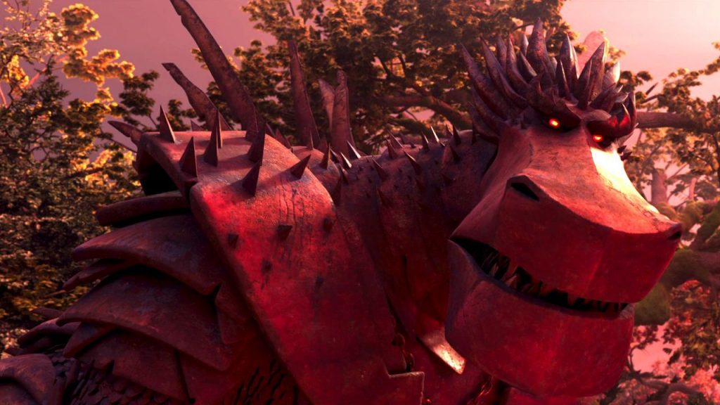 Is firedrake the silver dragon scary for kids? A parent's review